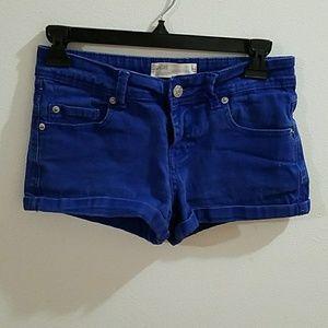 Pants - Women's Size 2 Cobalt Blue Jean Shorts
